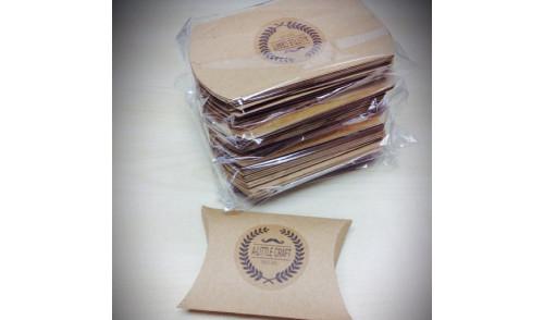 Jastuk kutije sa stikerom - standardne veličine
