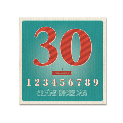 Rođendanska čestitka 34